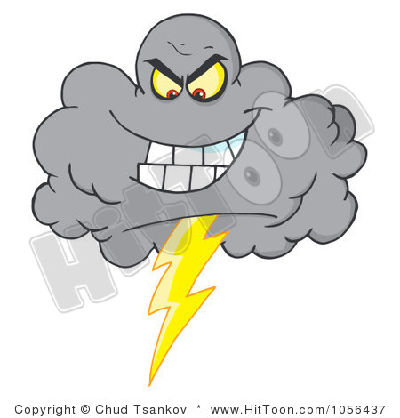 Thunderstorm clipart stormy Clipart cliparts Stormy Cloud Stormy