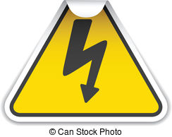 Lightening clipart voltage Vectors voltage voltage with sticker
