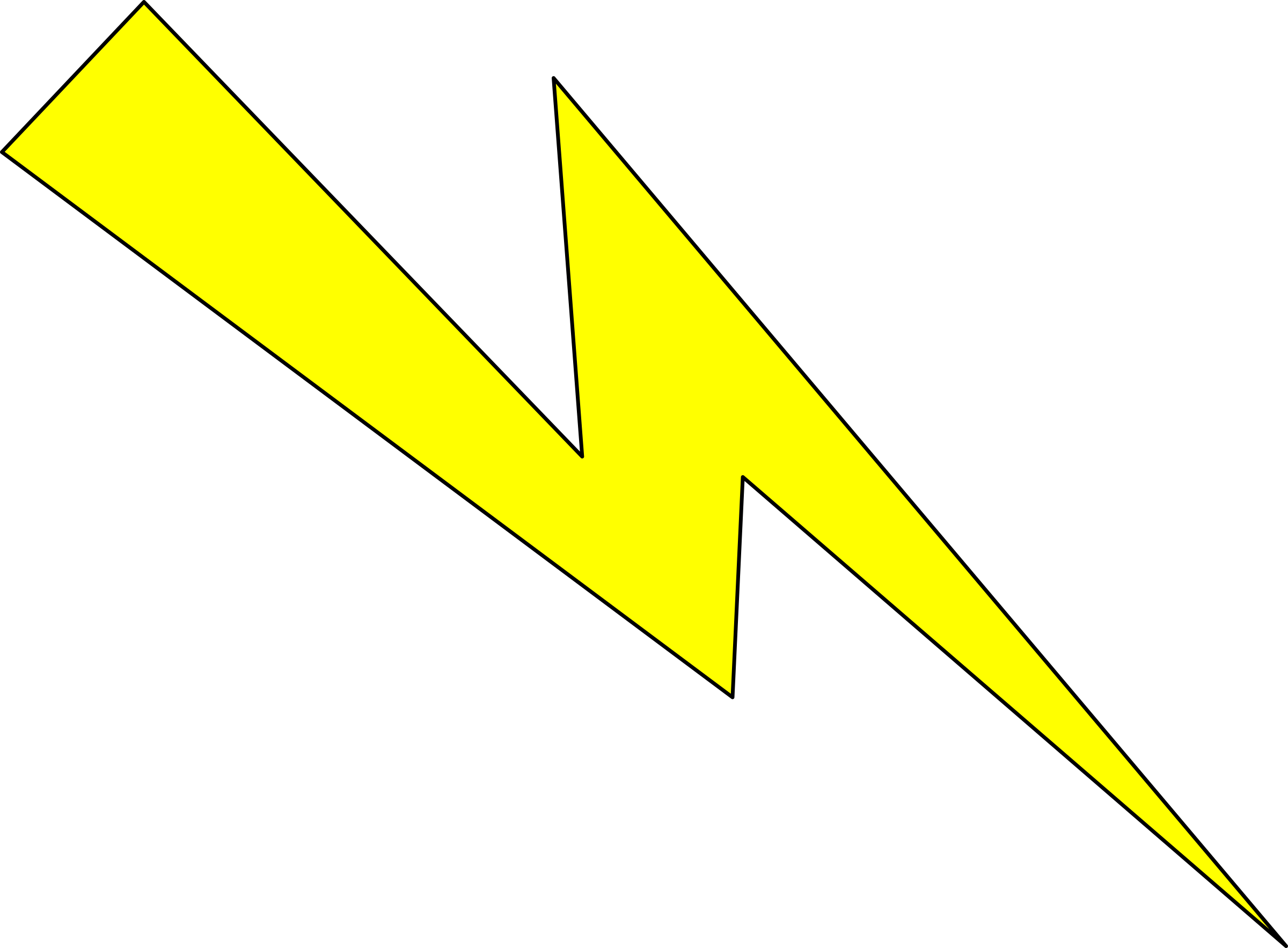 Lightening clipart yellow With Yellow Lightning with Wallpaper