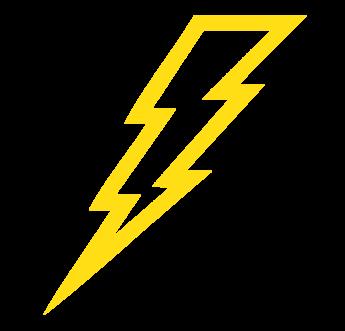Lightening clipart yellow Free Outline » ClipartPod Lightning