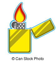 Lighter clipart Matches Clipart Black And White Illustrationby and Lighter Stock Lighter