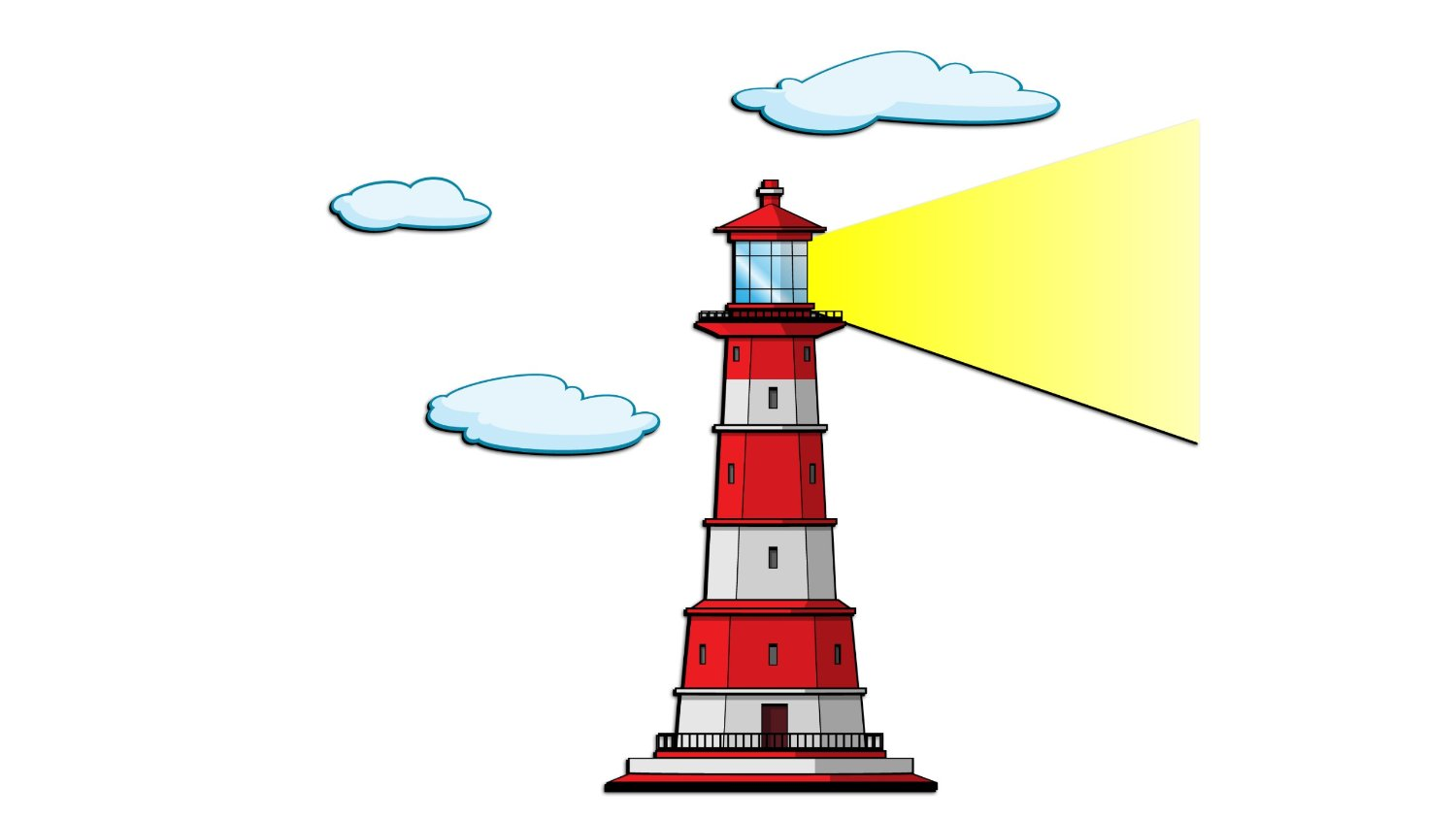 Lighhouse clipart foggy Free clipartix lighthouse This clip