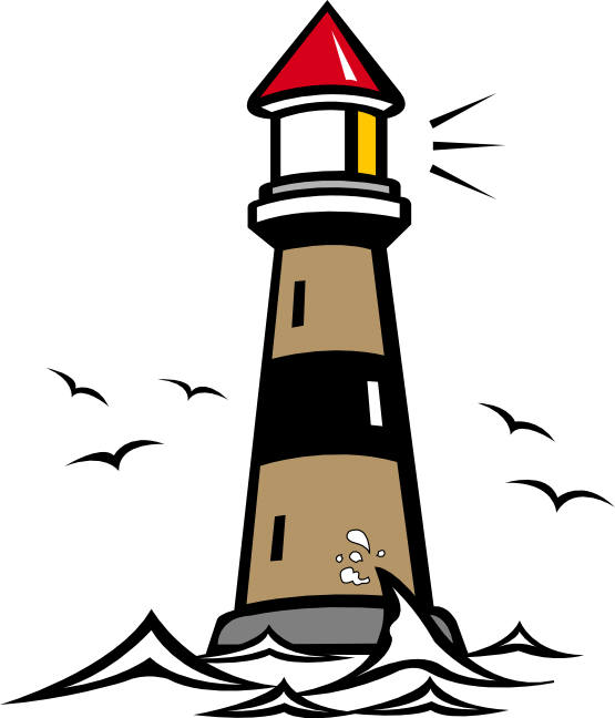 Lighhouse clipart kid  Art Free Lighthouse Clipart