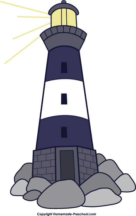 Lighhouse clipart kid Lighthouse Clipart Free