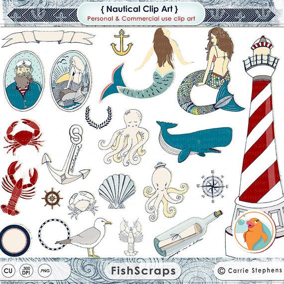 Sailor clipart lighthouse & FishScraps & Illustration Lighthouse