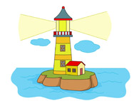 Lighthouse clipart animated Pictures Clip  Lighthouses Art
