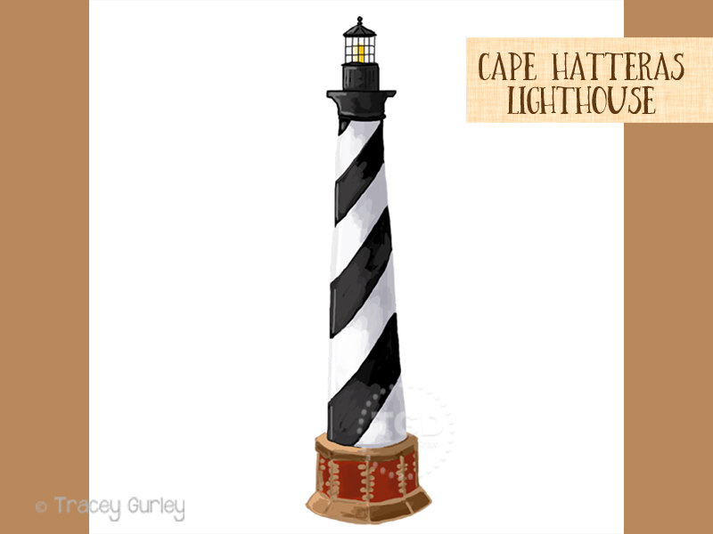 Lighthouse clipart beach swimming Clip Lighthouse clip clip Cape