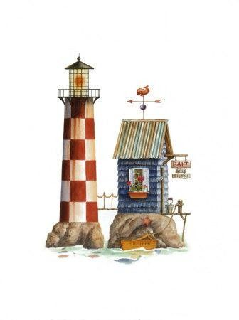 Lighthouse clipart beach swimming ღ Clipart Lighthouse ღ ~