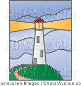 Lighthouse clipart beacon Avenue Beacon by Stock Curving