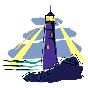 Lighthouse clipart beacon Free  Clipart Beacon Art