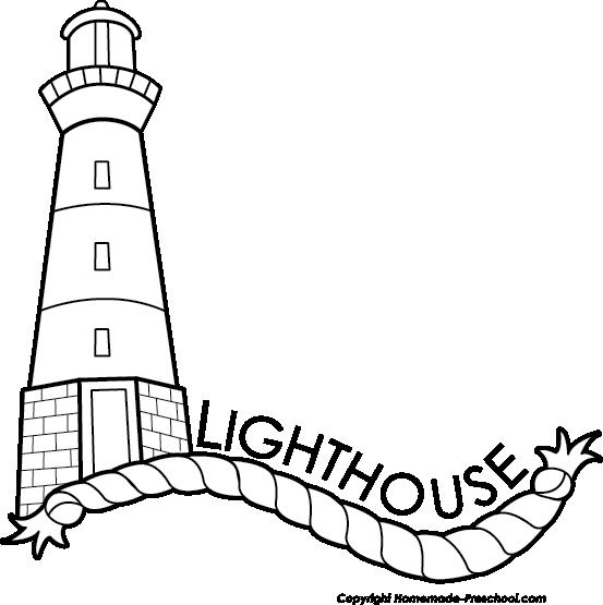 Lighhouse clipart black and white Image Free Lighthouse White White