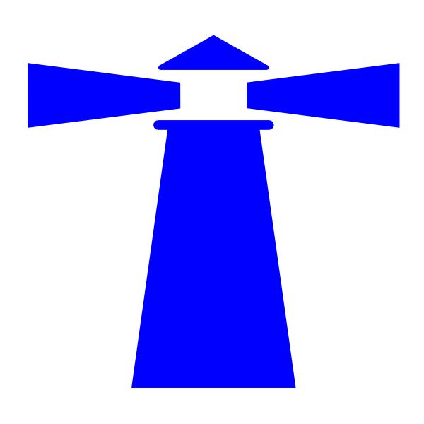 Lighthouse clipart building a Blue ~ Blue Clipart Free