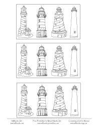 Lighthouse clipart building a Clipart Lighthouse Printable the on