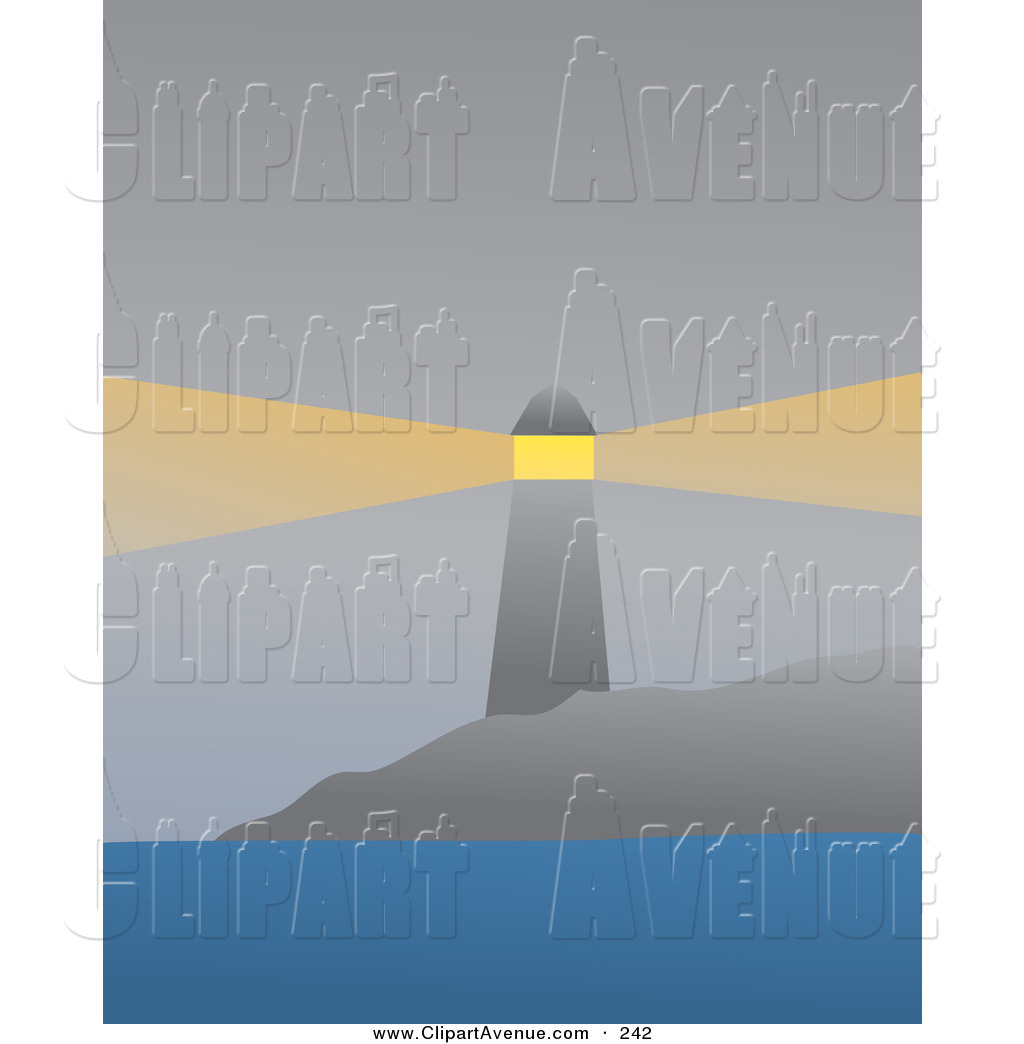 Lighhouse clipart foggy Guiding Ships Foggy Avenue of