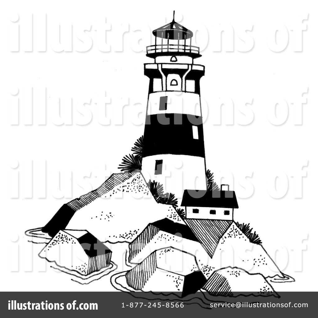 Lighthouse clipart illustration LoopyLand LoopyLand Illustration Lighthouse Royalty