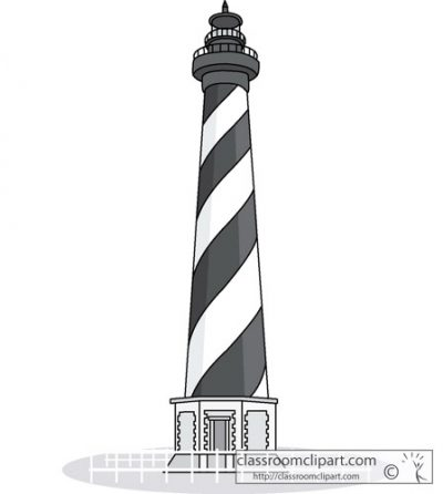 Lighhouse clipart kid Collection Clipart hatteras – lighthouse