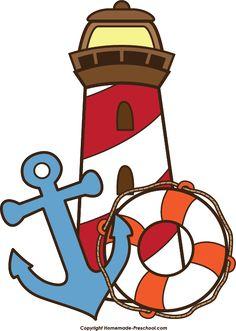 Lighhouse clipart nautical #15