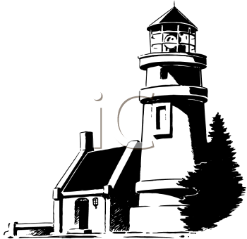 Lighthouse clipart line drawing Free images Clipart Lighthouse clipart