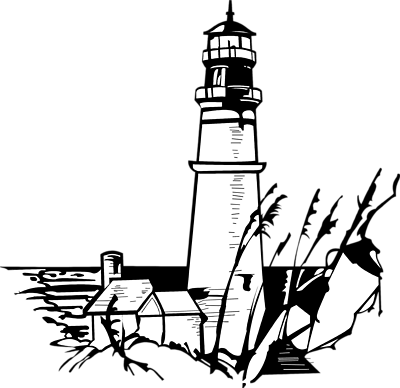 Lighthouse clipart line drawing Free Illustration Free Art Lighthouse