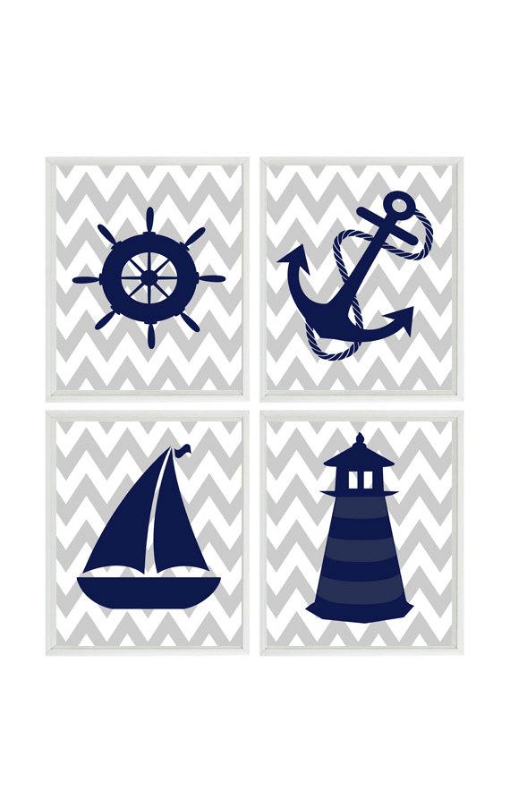 Sailboat clipart navy blue #8