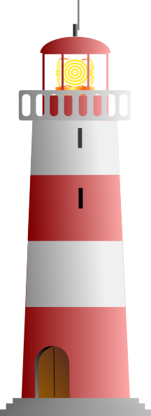 Lighthouse clipart pink As: White &  com