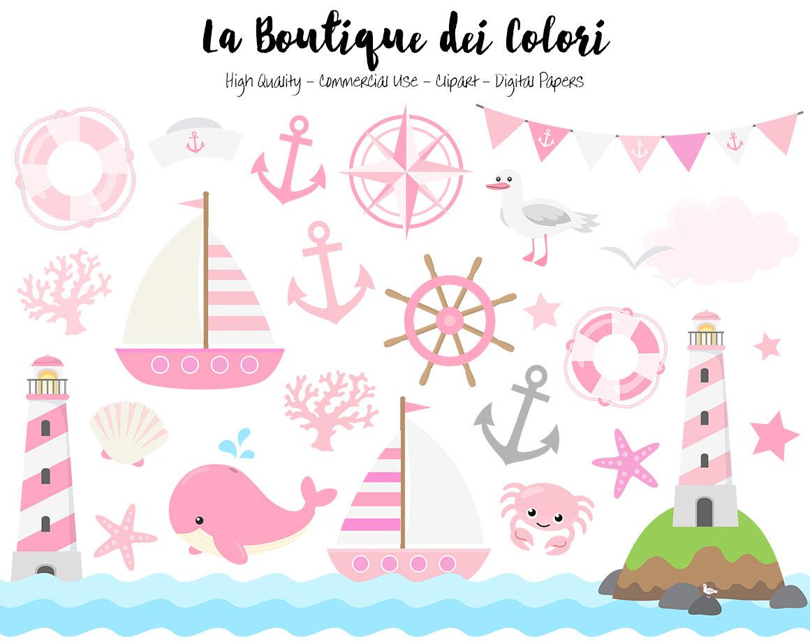 Lighhouse clipart pink Girly Sea Cute this Nautical