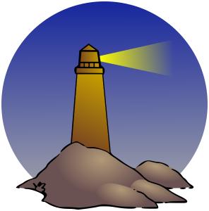 Lighhouse clipart purple Lighthouse Lighthouse Scene Clip Download