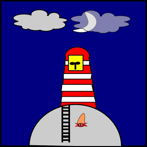 Lighhouse clipart purple Lighthouse Art Clip Lighthouse Clip