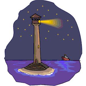 Lighhouse clipart purple Lighthouse clipart Lighthouse (wmf eps