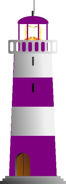 Lighhouse clipart purple Download image this Clip Art