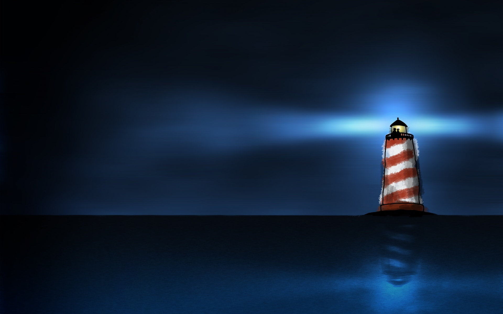 Lighthouse clipart red and blue Water drawing and lighthouse Download