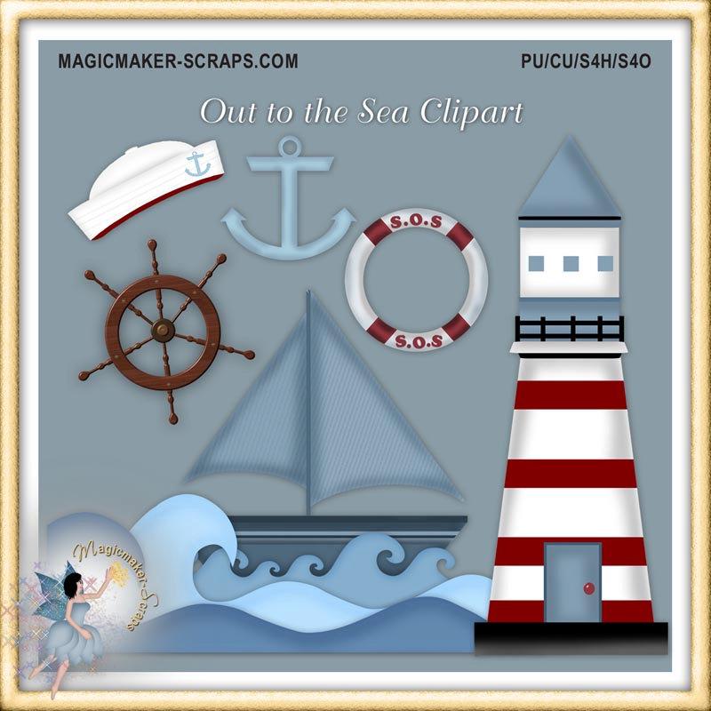 Sailor clipart lighthouse Sailor Nautical Clipart Lighthouse Marine