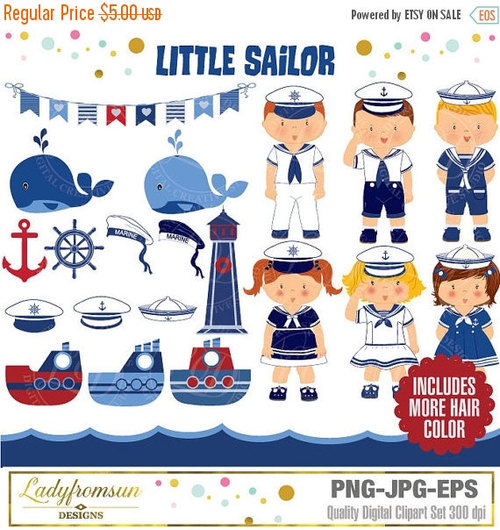 Sailor clipart lighthouse And anchor boy bunting Nautical