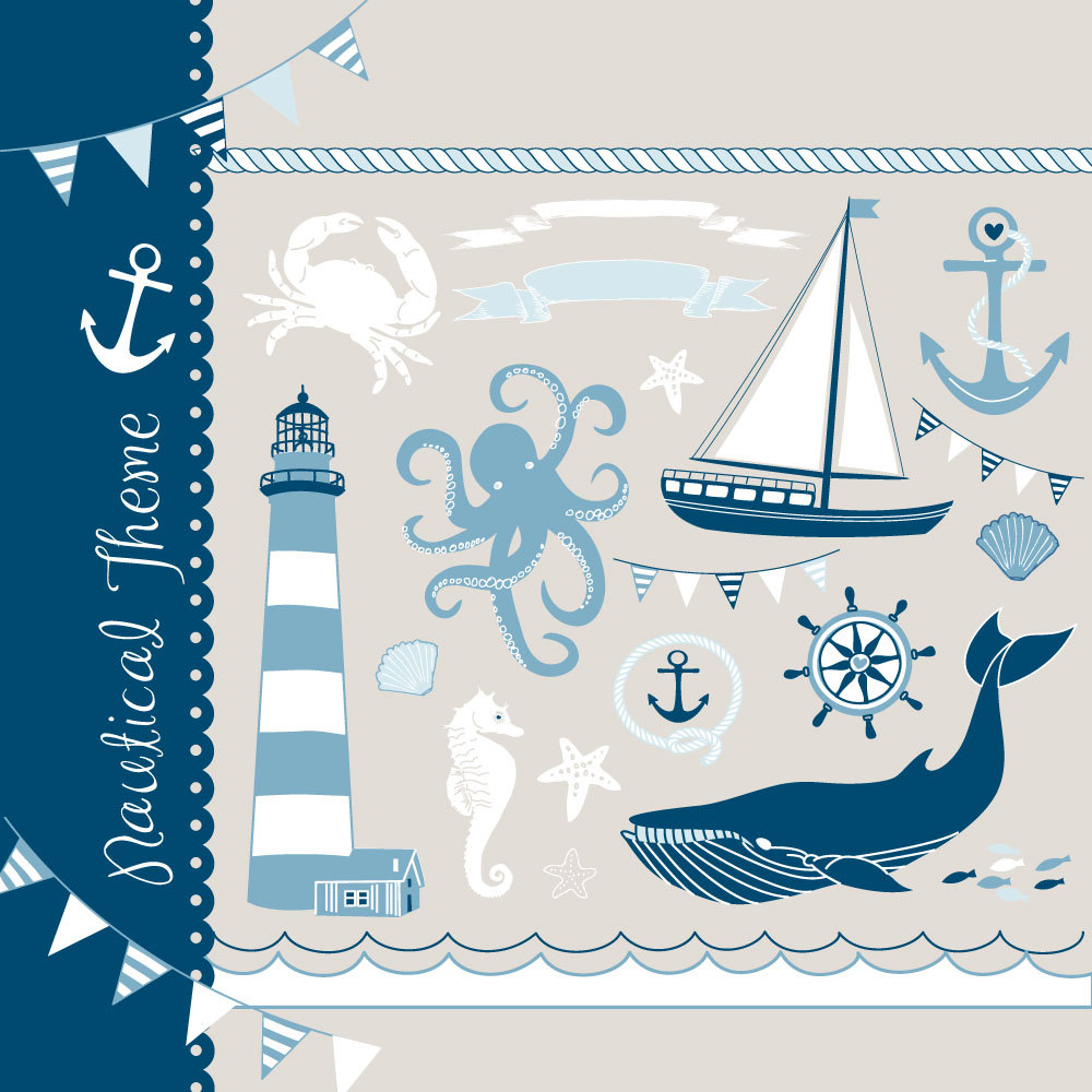 Drawn yacht the sea clipart Clipart collage collage sailboats drawn