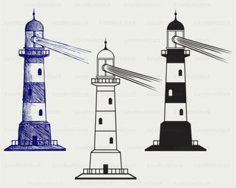 Lighthouse clipart seaside Svg clipart lighthouse clip files