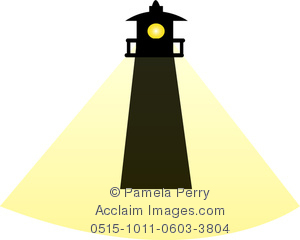 Lighhouse clipart silhouette A Image Lighthouse of a