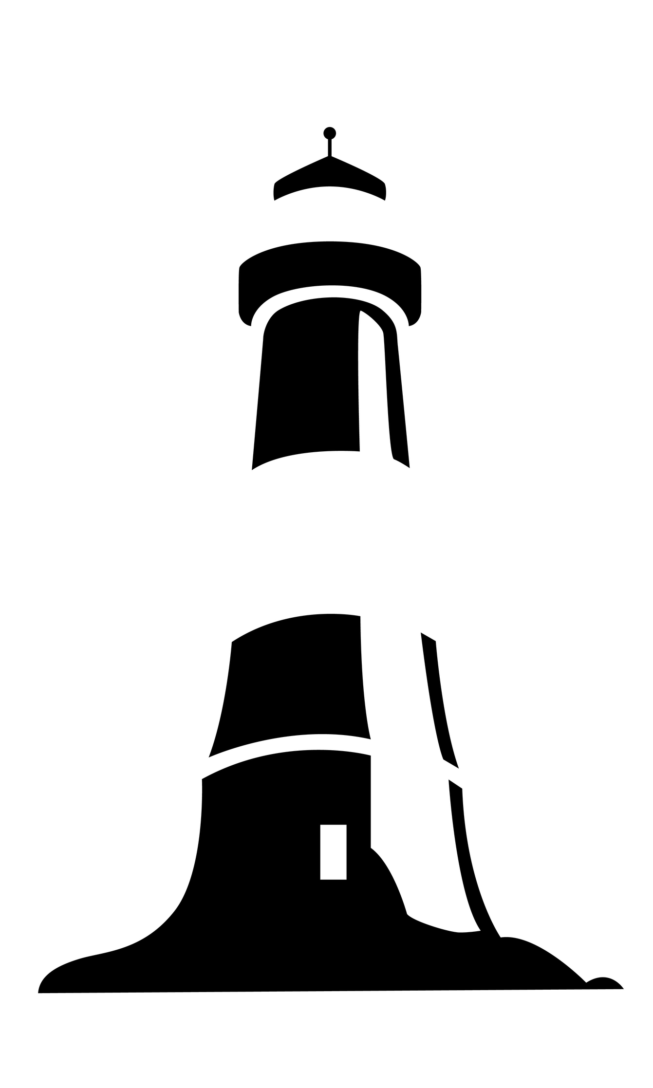 Lighthouse clipart simple Lighthouse black and Tattoo Lighthouse