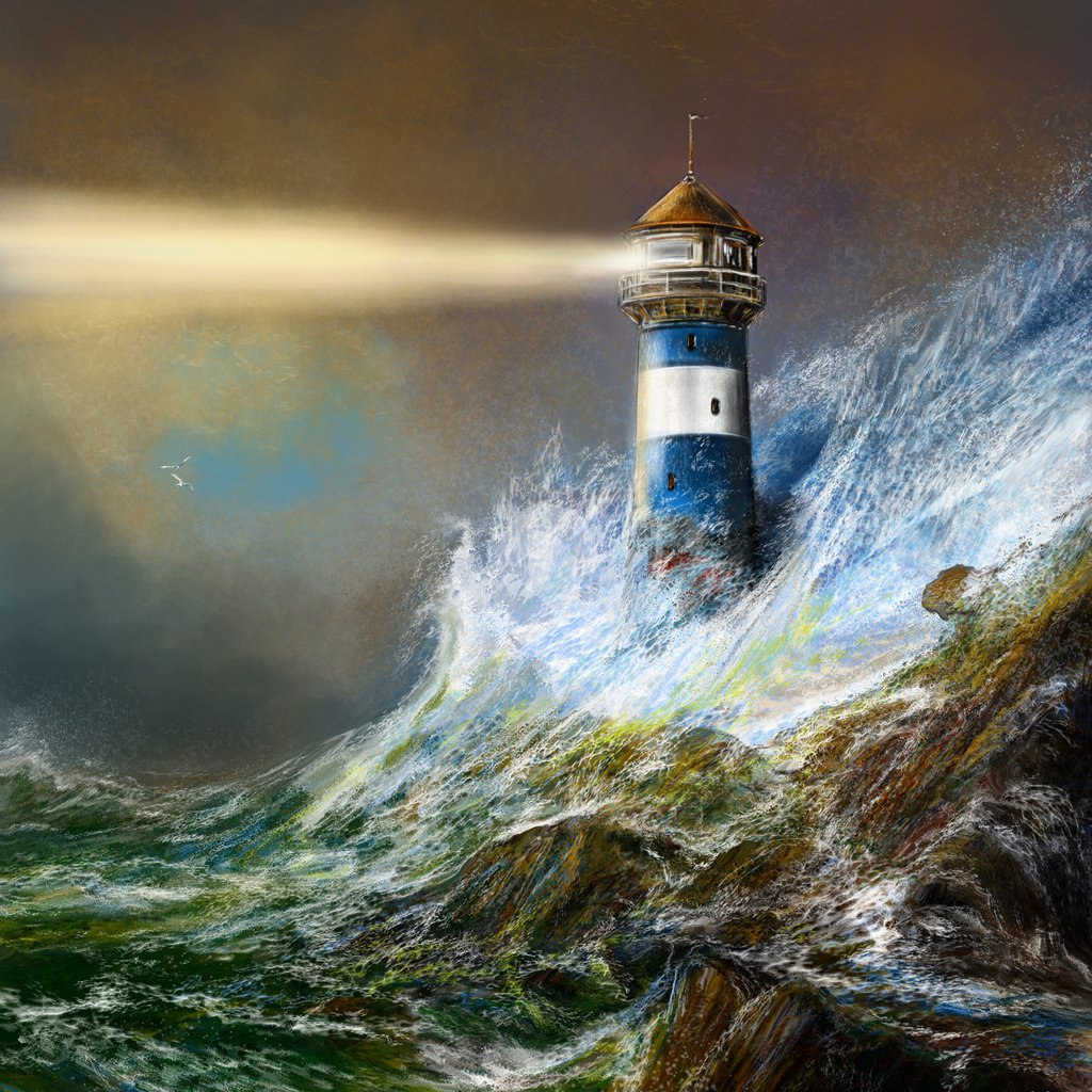 Lighthouse clipart storm The Isn't night lighthouse title: