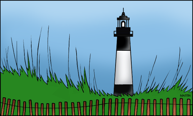 Lighthouse clipart tybee From Clip Art Martin from
