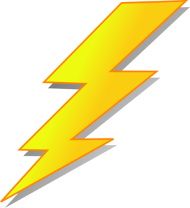 Lightening clipart yellow Collection Art Clipart at Clip