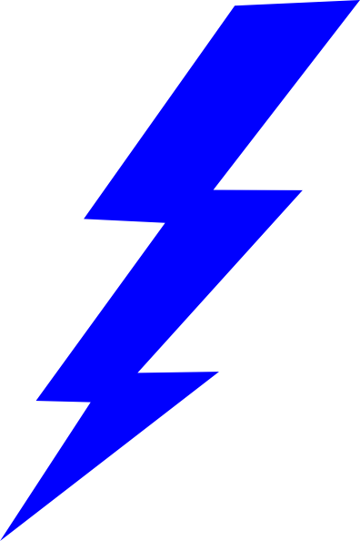 Lightening clipart electrical work Lightning Clipart Clipart Blue Panda