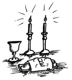 Wine clipart shabbat Havdalah Shabbat >  coloring