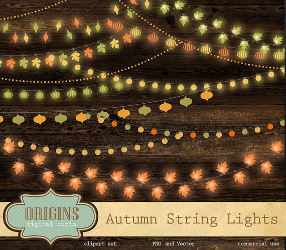 Lights clipart fall #10