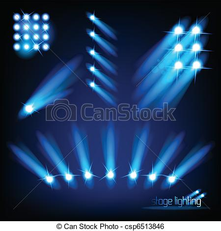 Lights clipart stage lighting #10