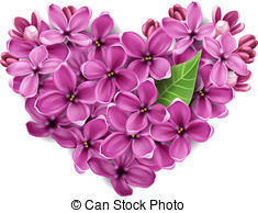 Lilac clipart #7