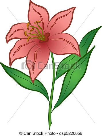 Floral clipart lily Lily Art lilies collection flowers