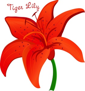 Floral clipart lily Clip Lily #26878 art art