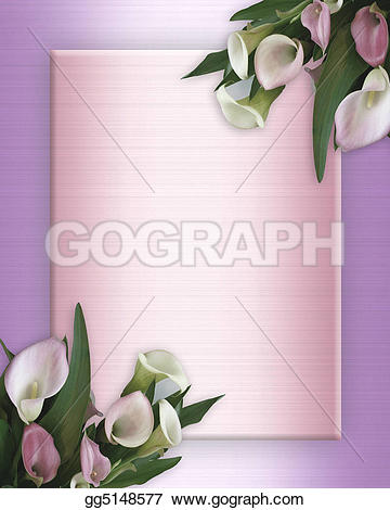 Calla Lily clipart easy Calla pink Illustrations Roses Lilies