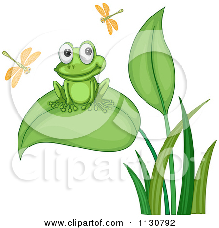 Adorable clipart cricket Pond frogs In A Royalty