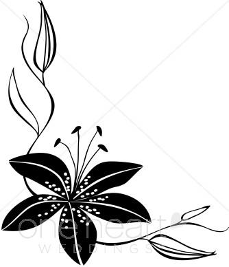 Rose clipart elegant flower #3